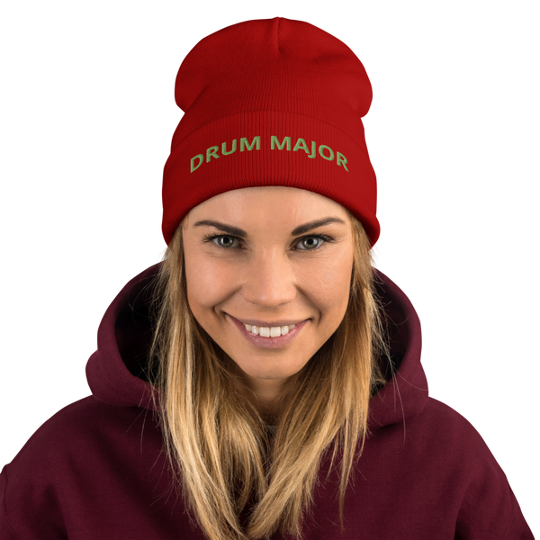 DRUM MAJOR Embroidered Beanie