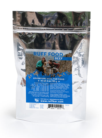 Species Appropriate Dog Food for the Adventure Dog by RUFF BAR