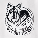 RUFF BAR Sticker