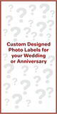 Customized Wedding/Anniversary RUFF BARS