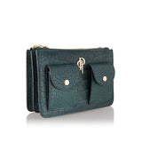 Forest green POUCHI multifunctional fannypack and crossbody bag