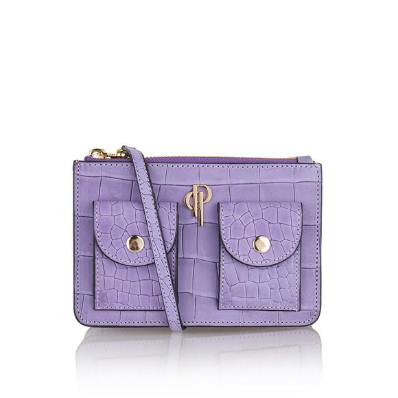 Lilac POUCHI multifunctional fannypack and crossbody bag