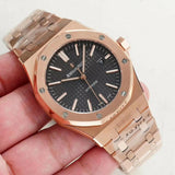 Audemars Piguet Royal Oak Rose-Gold Men`s Watch