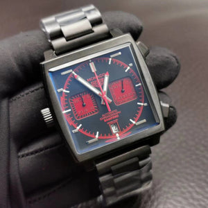 TAG Heuer Monaco Bamford Men`s Luxury Watch