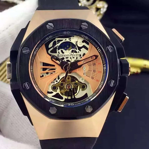 Audemars Piguet Royal Oak Concept Laptimer Black-Gold Tourbillon Luxury Men Watch
