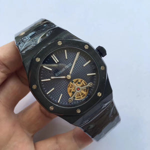 Audemars Piguet Royal Oak Selfwinding Tourbillon Black Luxury Men Watch