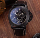 Panerai L'astronomo Black Case Automatic Men's Watch - My Watch Land