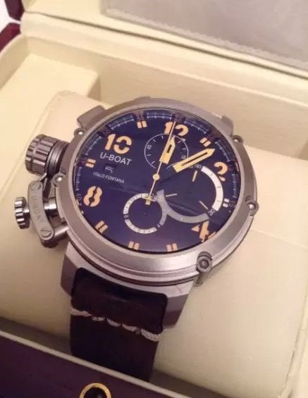 U-Boat by Italo Fontana Chimera Titanium Chrono Luxury Men's Watch