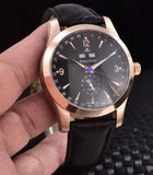 Jaeger-LeCoultre Master 43 mm Gold Case Men`s Mechanical Luxury Watch - My Watch Land