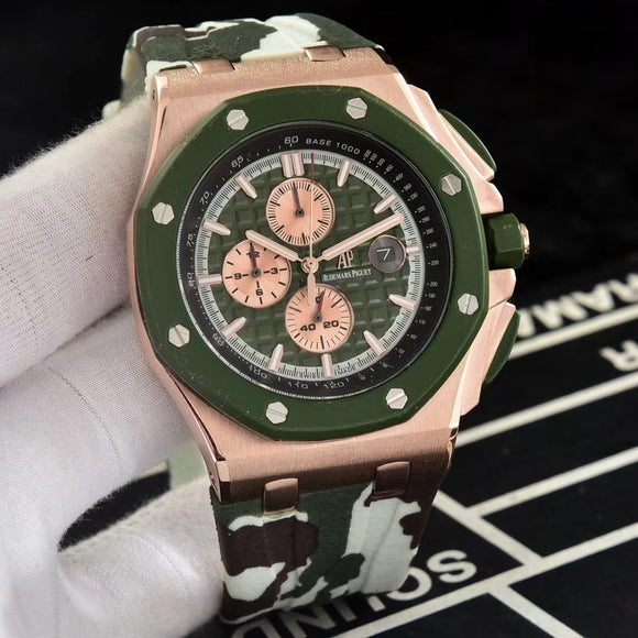 Audemars Piguet Royal Oak Offshore Chronograph Combat Gold Combat Quartz Luxury Men Watch
