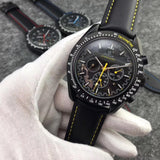 Omega Speedmaster Moon watch Apollo 8 Dark Side Of The Moon Automatic Yellow Dial Men's Watch - My Watch Land