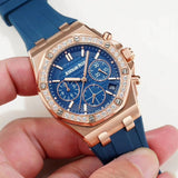 Audemars Piguet ROYAL OAK Rose-Gold Diamonds Women Watch