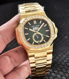 Patek Philippe Nautilus 5726/1A Diamonds Gold Luxury Men`s Watch