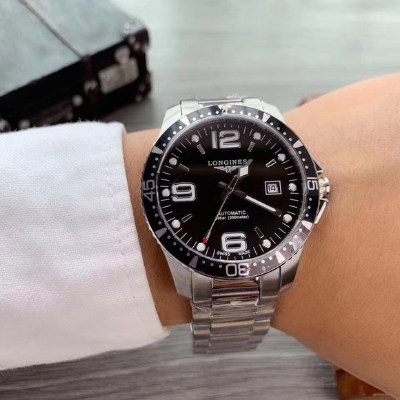 Longines HydroConquest Automatic Luxury Men`s Watch