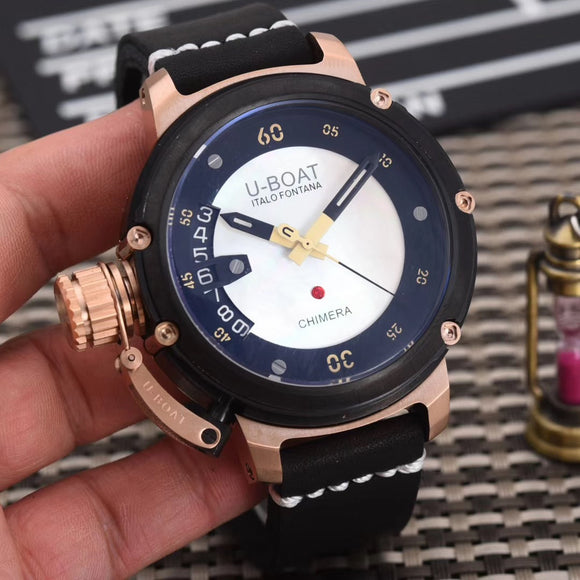 U-Boat Chimera Black Men`s Luxury Watch