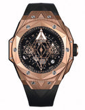 Hublot Big Bang Sang Bleu II Gold 45 mm Men`s Automatic Self-Wind Luxury Watch - My Watch Land