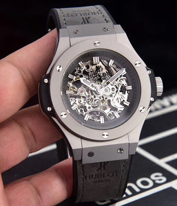 Hublot Big Bang Collection 45 mm Grey Mechanical Luxury Men's Watch - My Watch Land