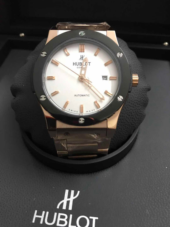 Hublot Classic Fusion Gold 42 mm Automatic Men's Watch - My Watch Land