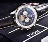 Breitling Navitimer Chronograph Self-Wind Automatic Tourbillon 45 mm Luxury Men's Watch - My Watch Land