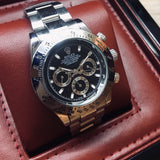 Rolex Oyster Perpetual Cosmograph Daytona Black Dial Luxury Men's Watch - My Watch Land