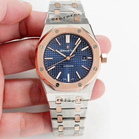 Audemars Piguet Royal Oak Selfwinding Silver-Gold Luxury Men`s Watch