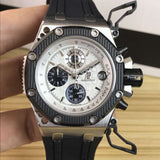 Audemars Piguet Royal OAK Offshore Survivor Silver Luxury Men`s Watch