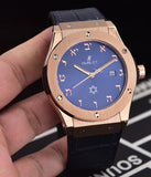 "Hublot Titanium Blue ""Israel 70"" Luxury Men's Watch - My Watch Land"