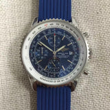 Breitling Navitimer Chronograph Quartz Rubber Band 46 mm Luxury Men's Watch - My Watch Land