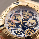 Invicta Reserve Gold, Silver 52 mm Men`s Quartz Luxury Watch - My Watch Land
