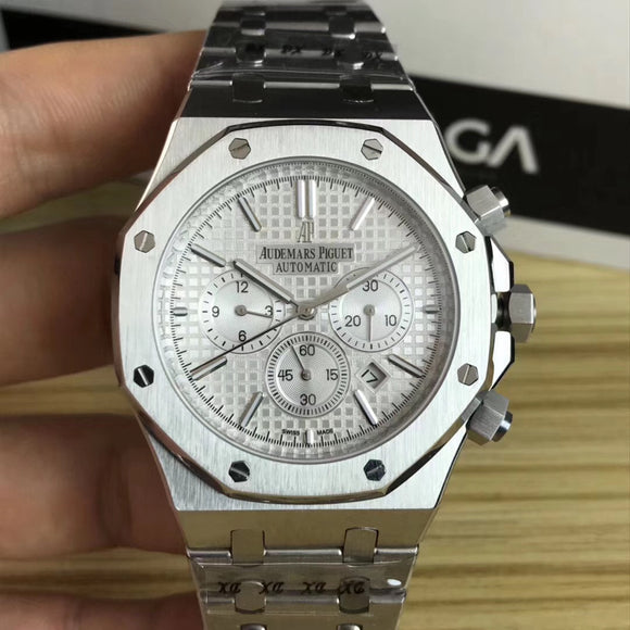 Audemars Piguet ROYAL OAK Silver Case Automatic Men's Watch - My Watch Land