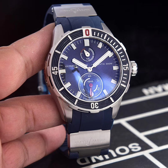 Ulysse Nardin Monaco Limited Edition Silver Luxury Men`s Watch
