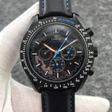Omega Speedmaster Moon watch Apollo 8 Dark Side Of The Moon Automatic Blue Dial Men's Watch - My Watch Land
