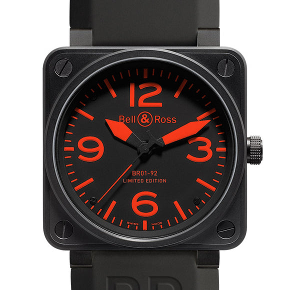 BELL & ROSS Aviation BR01-92-S Men`s Watch