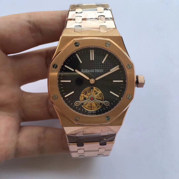 Audemars Piguet Royal Oak Selfwinding Tourbillon Gold Luxury Men Watch