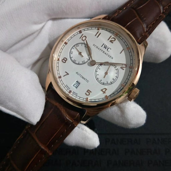 IWC Portugieser Automatic 7-Days Men`s Luxury Watch
