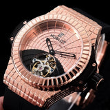 Hublot Big Bang Titanium Gold 47 mm Men`s Mechanical Tourbillon Luxury Watch - My Watch Land
