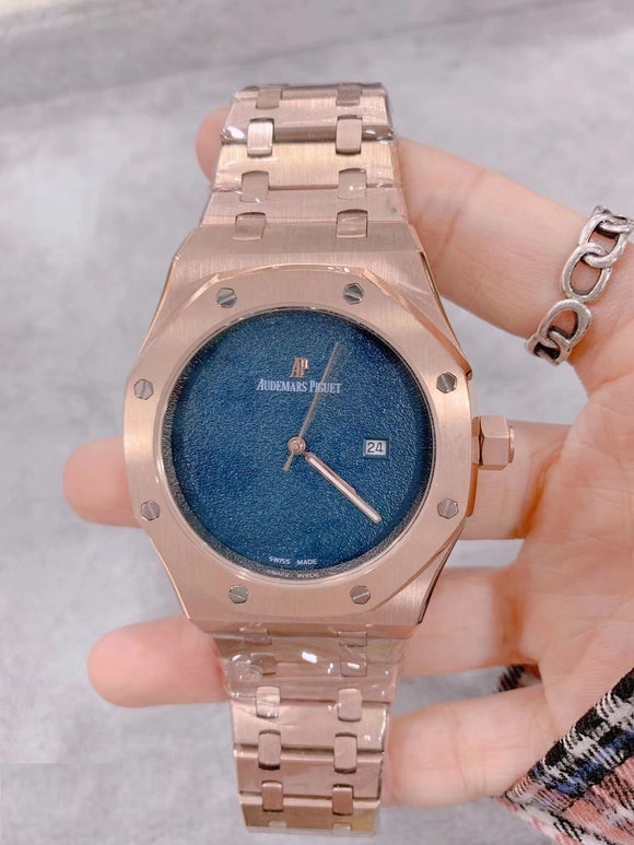 Audemars Piguet ROYAL OAK Rose-Gold Luxury Men`s Watch