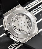 Hublot Big Bang Sang Bleu II Silver 45 mm Men`s Automatic Self-Wind Luxury Watch - My Watch Land