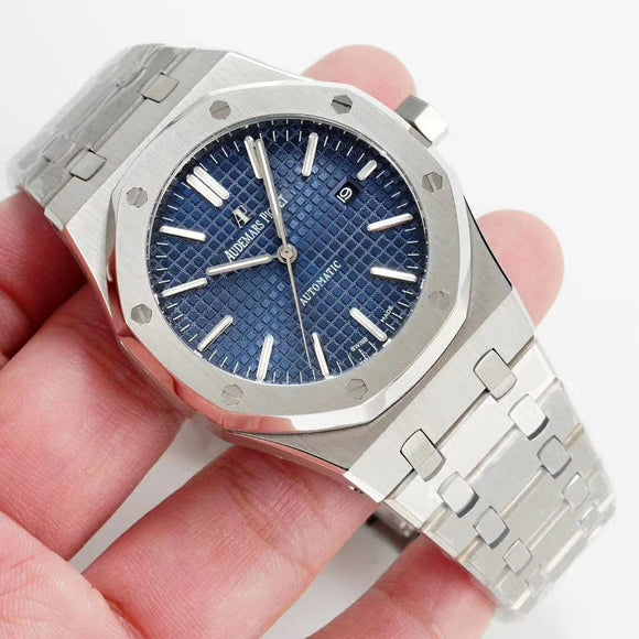 Audemars Piguet Royal Oak Selfwinding Silver Luxury Men`s Watch