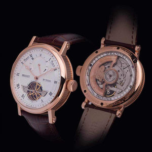 Breguet Classique Grande Complication Gold White Dial Tourbillon Luxury Men Watch