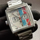 TAG Heuer Monaco Gulf Men`s Luxury Watch