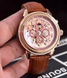 Patek Philippe Grandmaster Chime Engraved Gold Men`s Mechanical Luxury Watch - My Watch Land