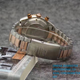Omega Seamaster Co-Axial Chronometer 007 Silver-Gold Men`s Luxury Watch