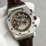Audemars Piguet Royal Oak Offshore Quartz Chronograph Silver Luxury Men Watch