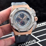 Audemars Piguet Royal Oak Offshore Michael Schumacher Rose Gold Luxury Men Watch