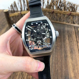 Franck Muller Vanguard Yachting Anchor Skeleton 53 mm Men`s Mechanical Luxury Watch - My Watch Land