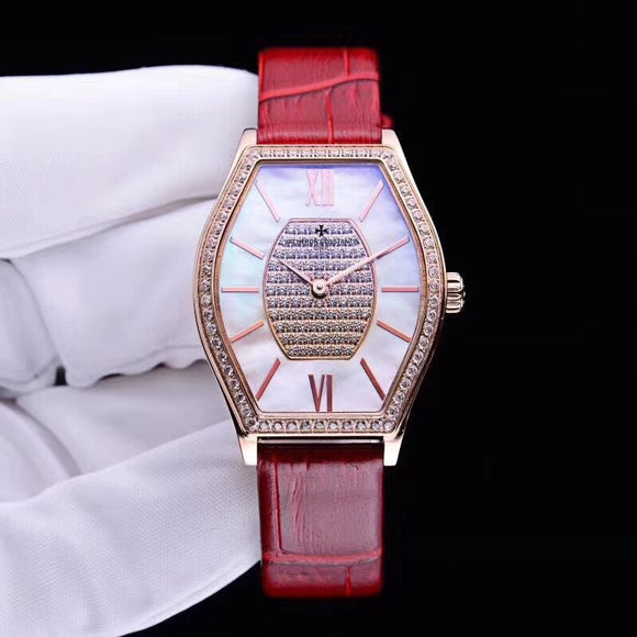 Vacheron Constantin Malte Lady Gold Diamonds Luxury Woman Watch