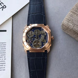 Bvlgari Bulgari Octo Finissimo Tourbillon Skeleton Gold Luxury Men Watch