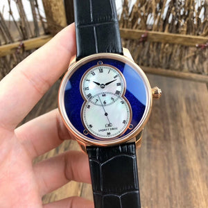 Jaquet Droz Grande Seconde Automatic Ivory Dial Gold Luxury Men Watch