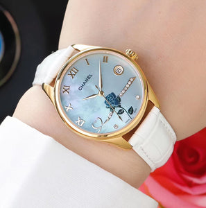Chanel Rose Gold Luxury Women Watch